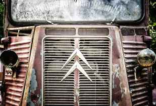 car automobile grille grill rust #eroseco