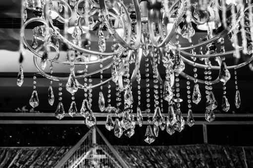 chandelier sparkle crystal #eroseco