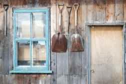 farmhouse country cottage barn industrial shed garden door exterior #eroseco