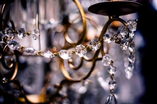 crystal chandelier sparkle glam glitz vintage #eroseco