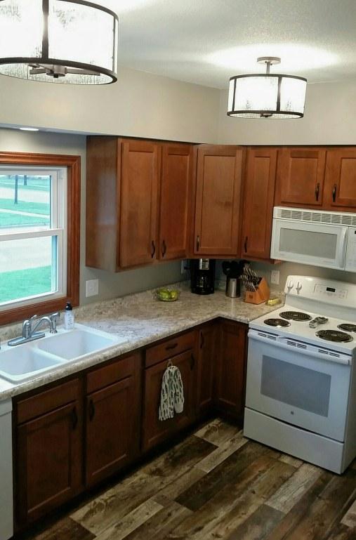 kitchen remodel reno demo reveal after renovation #eroseco