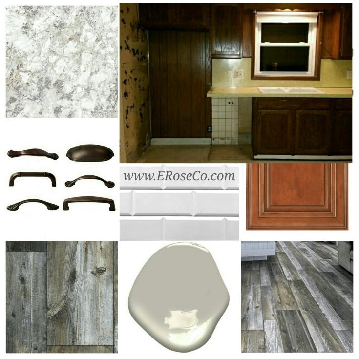 #eroseco kitchen mood inspiration planning design board