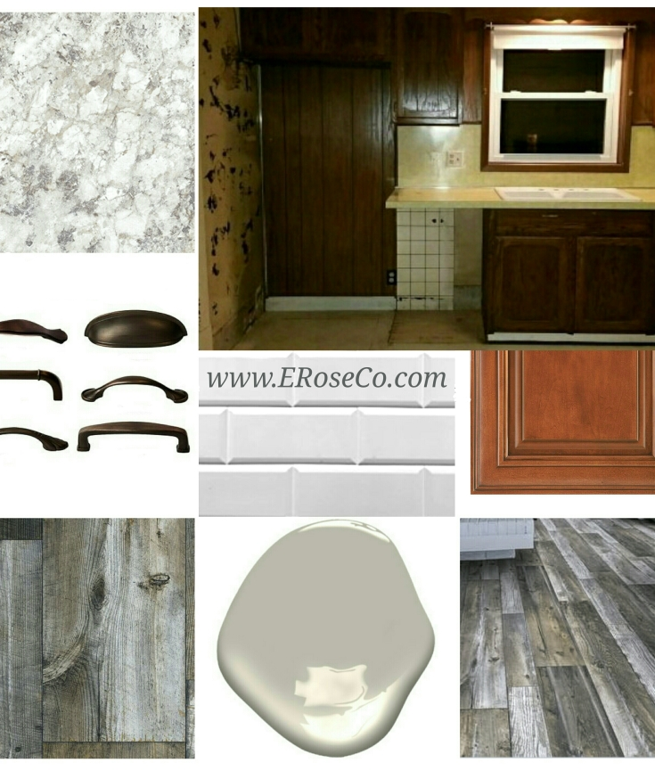 #eroseco kitchen mood inspiration planning design board
