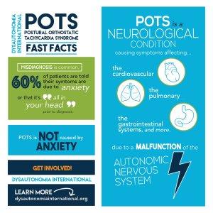 pots potsie dysautonomia postural orthostatic tachycardia chronic illness fatigue pain