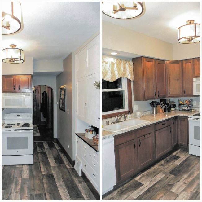 kitchen remodel reno demo reveal after renovation #eroseco